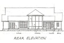 Farmhouse Exterior - Rear Elevation Plan #20-167