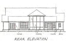 Home Plan - Farmhouse Exterior - Rear Elevation Plan #20-167