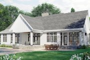 Farmhouse Style House Plan - 3 Beds 2.5 Baths 2396 Sq/Ft Plan #51-1170 Exterior - Rear Elevation