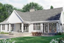 Home Plan - Farmhouse Exterior - Rear Elevation Plan #51-1170