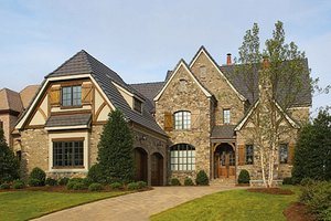 House Design - European Exterior - Front Elevation Plan #453-18