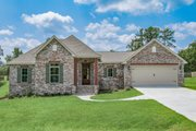 Ranch Style House Plan - 4 Beds 2 Baths 1889 Sq/Ft Plan #430-182 Exterior - Front Elevation
