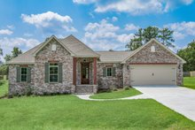 Home Plan - Ranch Exterior - Front Elevation Plan #430-182