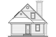 Home Plan - Beach Exterior - Rear Elevation Plan #23-492