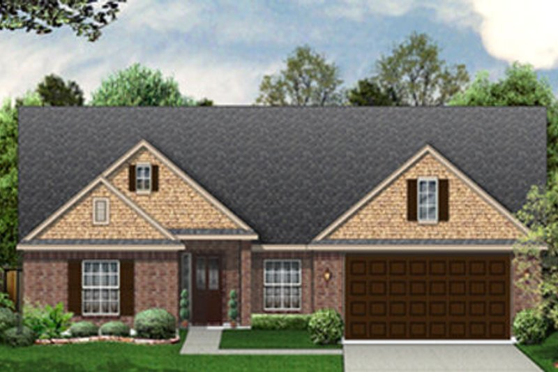 Dream House Plan - Traditional Exterior - Front Elevation Plan #84-455