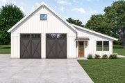Farmhouse Style House Plan - 1 Beds 1 Baths 1752 Sq/Ft Plan #1070-120 Exterior - Front Elevation