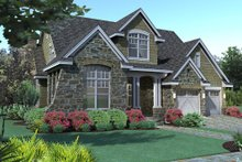 Traditional Exterior - Front Elevation Plan #120-166