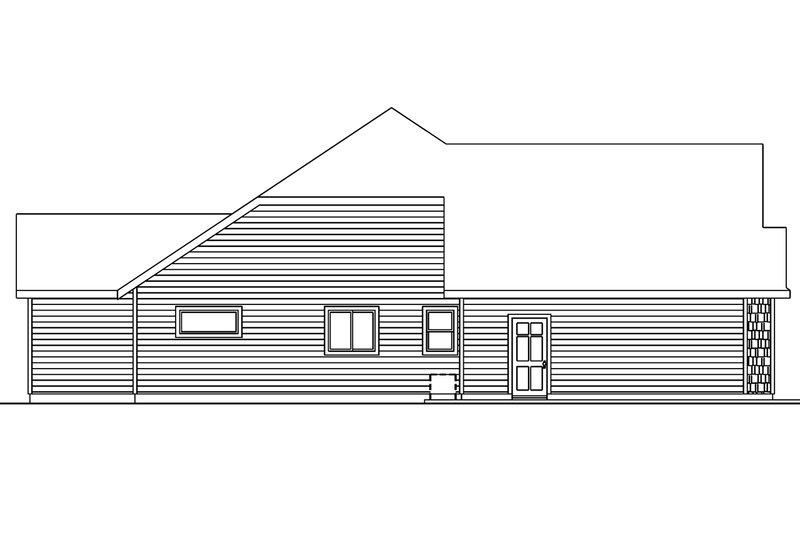 Craftsman Exterior - Other Elevation Plan #124-563 - Houseplans.com