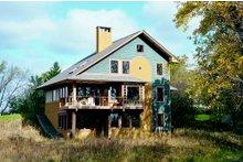 Contemporary Exterior - Outdoor Living Plan #454-3