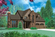 Home Plan - European Exterior - Front Elevation Plan #48-320