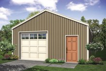 Traditional Exterior - Front Elevation Plan #124-1138