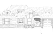 Craftsman Exterior - Front Elevation Plan #932-26