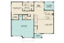 Contemporary Floor Plan - Main Floor Plan Plan #17-3426