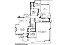 Ranch Floor Plan - Main Floor Plan Plan #70-1202
