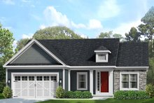 Home Plan - Ranch Exterior - Front Elevation Plan #1010-228