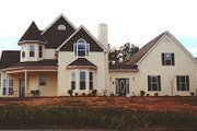 Victorian Style House Plan - 3 Beds 2.5 Baths 2071 Sq/Ft Plan #410-109 Photo