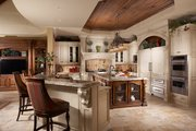 Mediterranean Style House Plan - 5 Beds 5.5 Baths 6045 Sq/Ft Plan #548-3 Interior - Kitchen