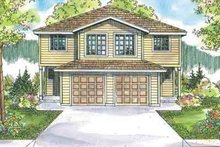 Architectural House Design - Traditional Exterior - Front Elevation Plan #124-571