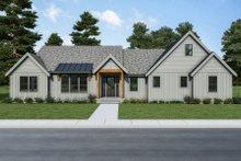 House Plan Design - Farmhouse Exterior - Front Elevation Plan #1070-117