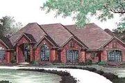 European Style House Plan - 4 Beds 3.5 Baths 2696 Sq/Ft Plan #310-433