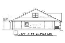 Architectural House Design - Cottage Exterior - Other Elevation Plan #20-2387