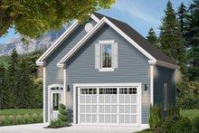 House Plan Design - Exterior - Front Elevation Plan #23-2475