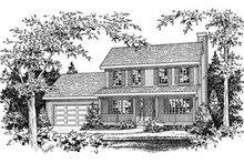 House Plan Design - Farmhouse Exterior - Other Elevation Plan #22-202