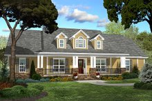 Architectural House Design - Country style Plan 430-47 front elevation