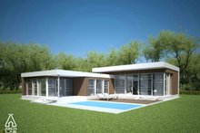 Home Plan - Modern Exterior - Other Elevation Plan #552-2