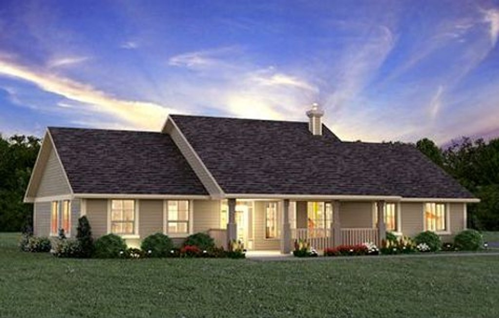 Ranch style house plan 3 beds 2 baths 1924 sq ft plan for New ranch style homes in maryland