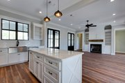 Farmhouse Style House Plan - 3 Beds 2 Baths 2077 Sq/Ft Plan #430-164 Interior - Kitchen