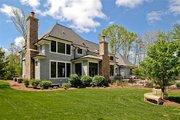 European Style House Plan - 5 Beds 3.5 Baths 4427 Sq/Ft Plan #901-59 Exterior - Rear Elevation