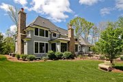 European Style House Plan - 5 Beds 3.5 Baths 4427 Sq/Ft Plan #901-59 Exterior - Rear Elevation