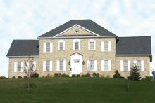 Dream House Plan - Colonial Exterior - Front Elevation Plan #137-200