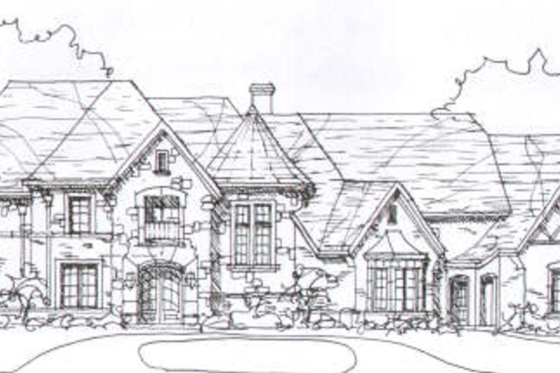 European Style House Plan - 4 Beds 4.5 Baths 5471 Sq/Ft Plan #141-226