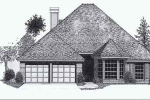 Colonial Exterior - Front Elevation Plan #310-775