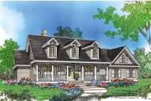 House Plan Design - Country Exterior - Front Elevation Plan #929-20