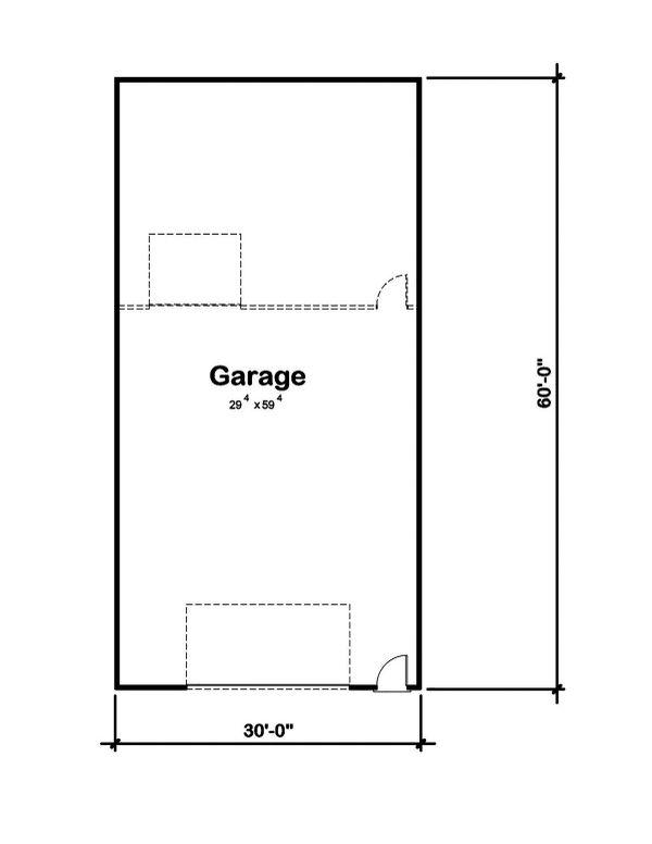 Traditional Floor Plan - Main Floor Plan Plan #20-2374