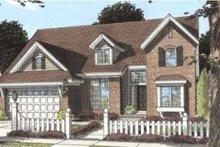 Dream House Plan - European Exterior - Front Elevation Plan #20-1836