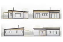 House Plan Design - Cabin Exterior - Other Elevation Plan #924-9