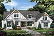 Home Plan - Farmhouse Exterior - Front Elevation Plan #929-1086