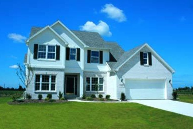 Dream House Plan - Traditional Exterior - Front Elevation Plan #20-839