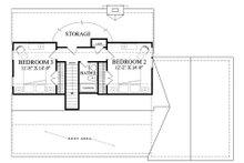 Country Floor Plan - Upper Floor Plan Plan #137-278