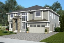 Home Plan - Contemporary Exterior - Front Elevation Plan #1066-12