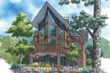House Plan Design - Contemporary Exterior - Rear Elevation Plan #930-152