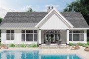 Farmhouse Style House Plan - 3 Beds 2 Baths 2112 Sq/Ft Plan #51-1169 Exterior - Rear Elevation