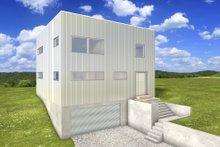Architectural House Design - Modern Exterior - Front Elevation Plan #497-26