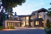 Contemporary Style House Plan - 4 Beds 5.5 Baths 4098 Sq/Ft Plan #1066-110 Exterior - Other Elevation