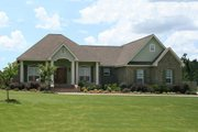 Country Style House Plan - 3 Beds 2.5 Baths 2108 Sq/Ft Plan #21-384 Exterior - Front Elevation