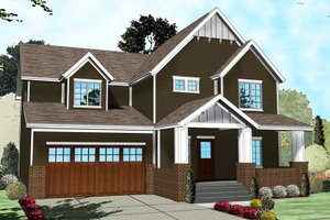 2700 square foot 4 bedroom 3 bath craftsman house plan